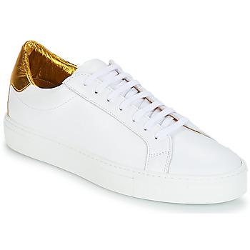 Schoenen Dames Lage sneakers KLOM KEEP Wit / Goud