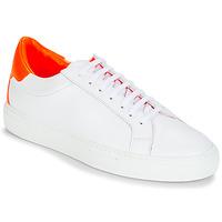 Schoenen Dames Lage sneakers KLOM KEEP Wit / Oranje
