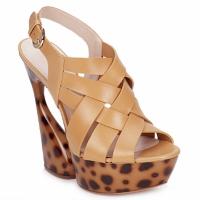 Schoenen Dames Sandalen / Open schoenen Casadei MAGGY Zoet / Naturel