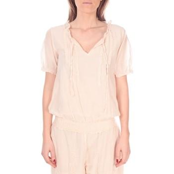 Textiel Dames Tops / Blousjes Vision De Reve Tunique Kate 7041 Rose Roze