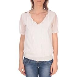 Textiel Dames Tops / Blousjes Vision De Reve Tunique Kate 7041 Blanche Wit