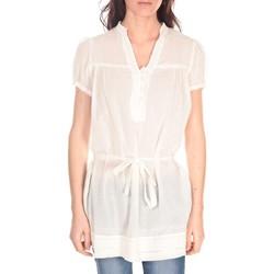Textiel Dames Tunieken Vision De Reve Tunique Claire 7090 Blanc Wit