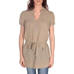 Textiel Dames Tunieken Vision De Reve Tunique Claire 7090 Marron Bruin