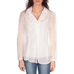 Textiel Dames Tops / Blousjes Vision De Reve Tunique Lorine 7068 Blanc Wit
