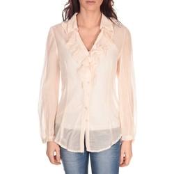 Textiel Dames Tops / Blousjes Vision De Reve Tunique Lorine 7068 Rose Roze