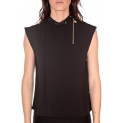 Textiel Dames Mouwloze tops Tcqb Top Sirene Noir Zwart