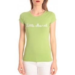 Textiel Dames T-shirts korte mouwen Little Marcel t-shirt tokyo corde vert Groen