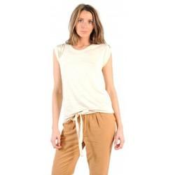 Textiel Dames T-shirts korte mouwen American Vintage TOP JAC60 NATUREL Beige