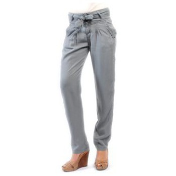 Textiel Dames Broeken / Pantalons Sud Express PANTALON PIROIR CIMENT Grijs
