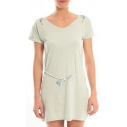 Textiel Dames Korte jurken Blune Robe Larme de Joie LJ-RF01E13 Verte Groen