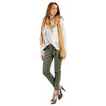 Textiel Dames Tops / Blousjes American Vintage BLOUSE MIL144E11 NATUREL Beige