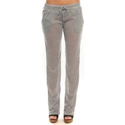 Textiel Dames Trainingsbroeken By La Vitrine Pantalon  BLV02 Gris Grijs