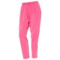 Textiel Dames Broeken / Pantalons So Charlotte Pleats jersey Pant B00-424-00 Rose Roze