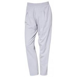 Textiel Dames Broeken / Pantalons So Charlotte Pleats jersey Pant B00-424-00 Gris Grijs