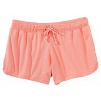 Textiel Dames Korte broeken / Bermuda's Petit Bateau Short 32770 34 Rose Roze