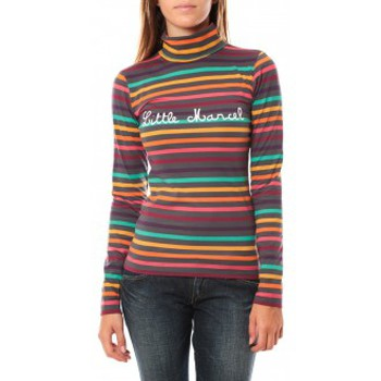 Textiel Dames T-shirts met lange mouwen Little Marcel DUNKE 250 Grijs