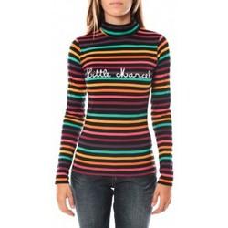 Textiel Dames T-shirts met lange mouwen Little Marcel DUNKE 250 FN Zwart