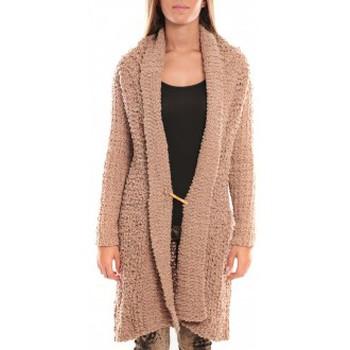 Textiel Dames Jacks / Blazers By La Vitrine Veste Julie 33001 Beige Beige