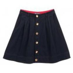 Textiel Dames Rokken Petit Bateau Jupe 3436113220 Bleu Blauw