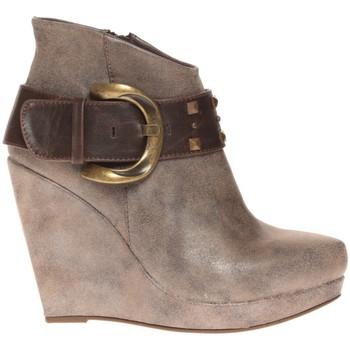 Schoenen Dames Low boots Cassis Côte d'Azur Bottines Anaee Belt Bronze Bruin
