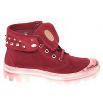 Schoenen Dames Hoge sneakers Cassis Côte d'Azur Baskets Ginara Bordeaux Rood