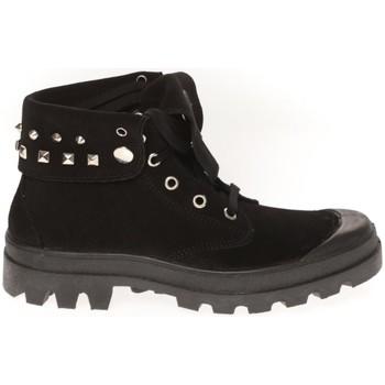 Schoenen Dames Hoge sneakers Cassis Côte d'Azur Baskets Ginara Noir Zwart