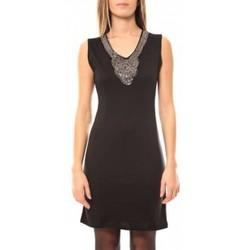 Textiel Dames Korte jurken Tcqb Robe Perlée 2771 Zwart