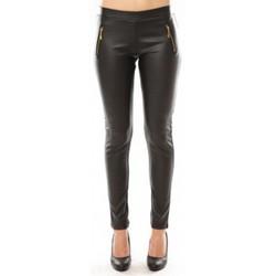 Textiel Dames Broeken / Pantalons Nina Rocca Pantalon Jovilia JL032 Zwart