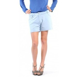 Textiel Dames Korte broeken / Bermuda's American Vintage SHORT KEY131 BLEU JEANS Blauw