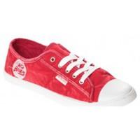 Schoenen Dames Lage sneakers Cassis Côte d'Azur Baskets Vika Rouge Rood