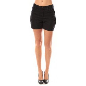 Textiel Dames Korte broeken / Bermuda's Vero Moda Sunny Day Shorts 10108018 Noir Zwart