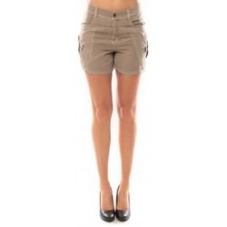 Textiel Dames Korte broeken / Bermuda's Vero Moda Sunny Day Shorts 10108018 Beige Beige