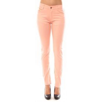 Textiel Dames Broeken / Pantalons Tcqb Pantalon B3523 Rose Roze
