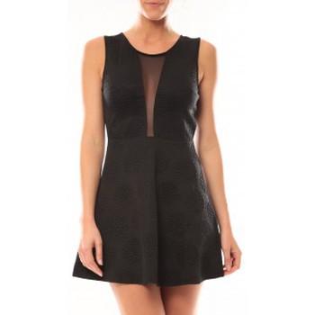 Textiel Dames Korte jurken Vera & Lucy Robe Lucce 9199 Noir Zwart