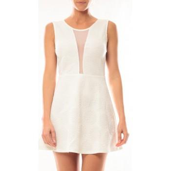 Textiel Dames Korte jurken Vera & Lucy Robe Lucce 9199 Blanc Wit