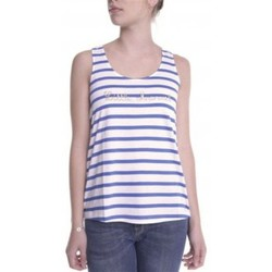 Textiel Dames Mouwloze tops Little Marcel Débardeur Domino E14IBF031 Blanc Wit