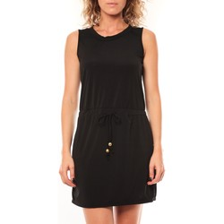 Textiel Dames Korte jurken Vera & Lucy Robe Kapp Noir Zwart