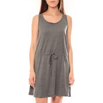 Textiel Dames Jurken Vero Moda Arrow S/L Above Knee Dress It Gris Grijs