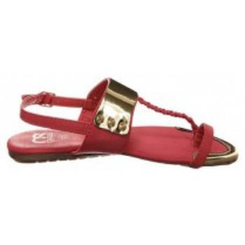 Schoenen Dames Teenslippers Cassis Côte d'Azur Sandales Fiduz Rouge Rood