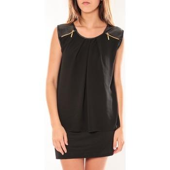 Textiel Dames Korte jurken Dress Code Robe ANM Moda Noir Zwart