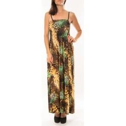 Textiel Dames Jurken By La Vitrine Robe Huamei F723 Vert Groen