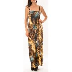 Textiel Dames Jurken By La Vitrine Robe Huamei F723 Bleu Blauw