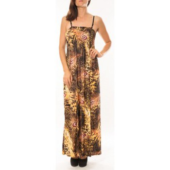 Textiel Dames Jurken By La Vitrine Robe Huamei F723 Rouge Rood