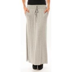 Textiel Dames Rokken Sweet Company Jupe simple à poche Gris clair Grijs