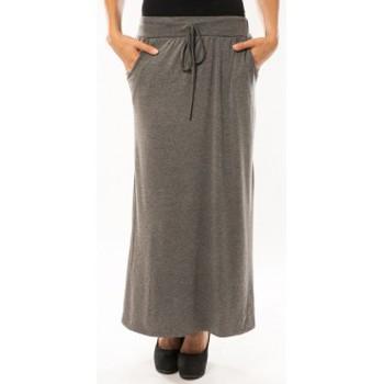 Textiel Dames Rokken Sweet Company Jupe simple à poche Gris Foncé Grijs