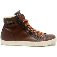 Schoenen Dames Hoge sneakers Little Marcel Baskets Pratik H14IGC009 Marron Bruin