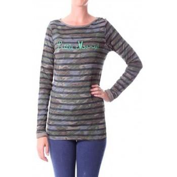 Textiel Dames T-shirts met lange mouwen Little Marcel T-shirt Tamanite H14IBF026 Kaki Groen