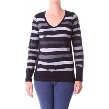 Textiel Dames T-shirts met lange mouwen Little Marcel T-shirt Alexina Paint H14IBF180 Gris Grijs
