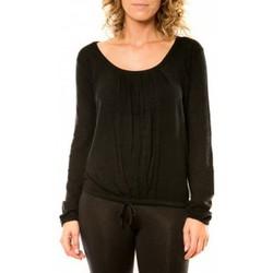 Textiel Dames Truien Vision De Reve Vision de Rêve Pull 12033 Noir Zwart