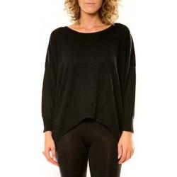 Textiel Dames Truien Vision De Reve Vision de Rêve Pull 12011 Noir Zwart